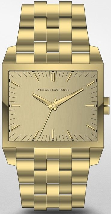 AX2219 - New Armani Exchange Gold Men's Latest Watch  RRP$180 #ArmaniExchange #Dress