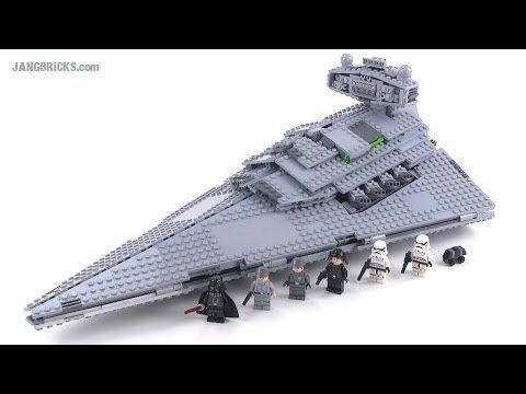 Giant Star Wars LEGO Super Star Destroyer Shattered at 1000 fps | Battle Damage - YouTube