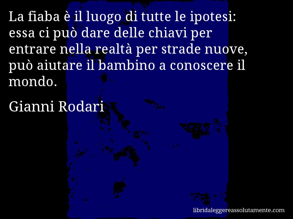Cartolina Con Aforisma Di Gianni Rodari 5 Citazioni Feelings