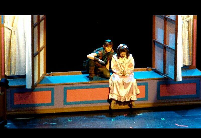 Peter Pan The Musical at the Civic Center in Marion.  Peter pan-Bailee Endebrock Amazing Job!!!! So magical!!!!! @BaileeEndebrock
