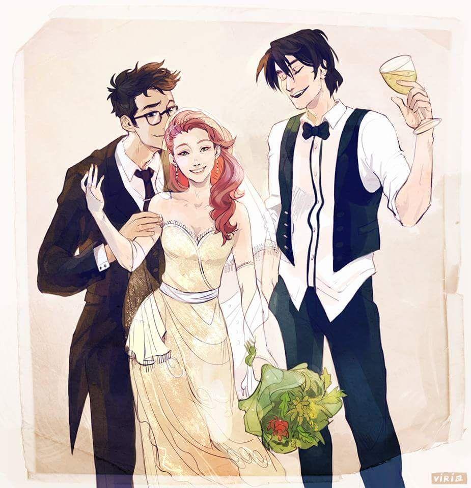 Harry Potter World Wedding: Lily Potter, Harry Potter