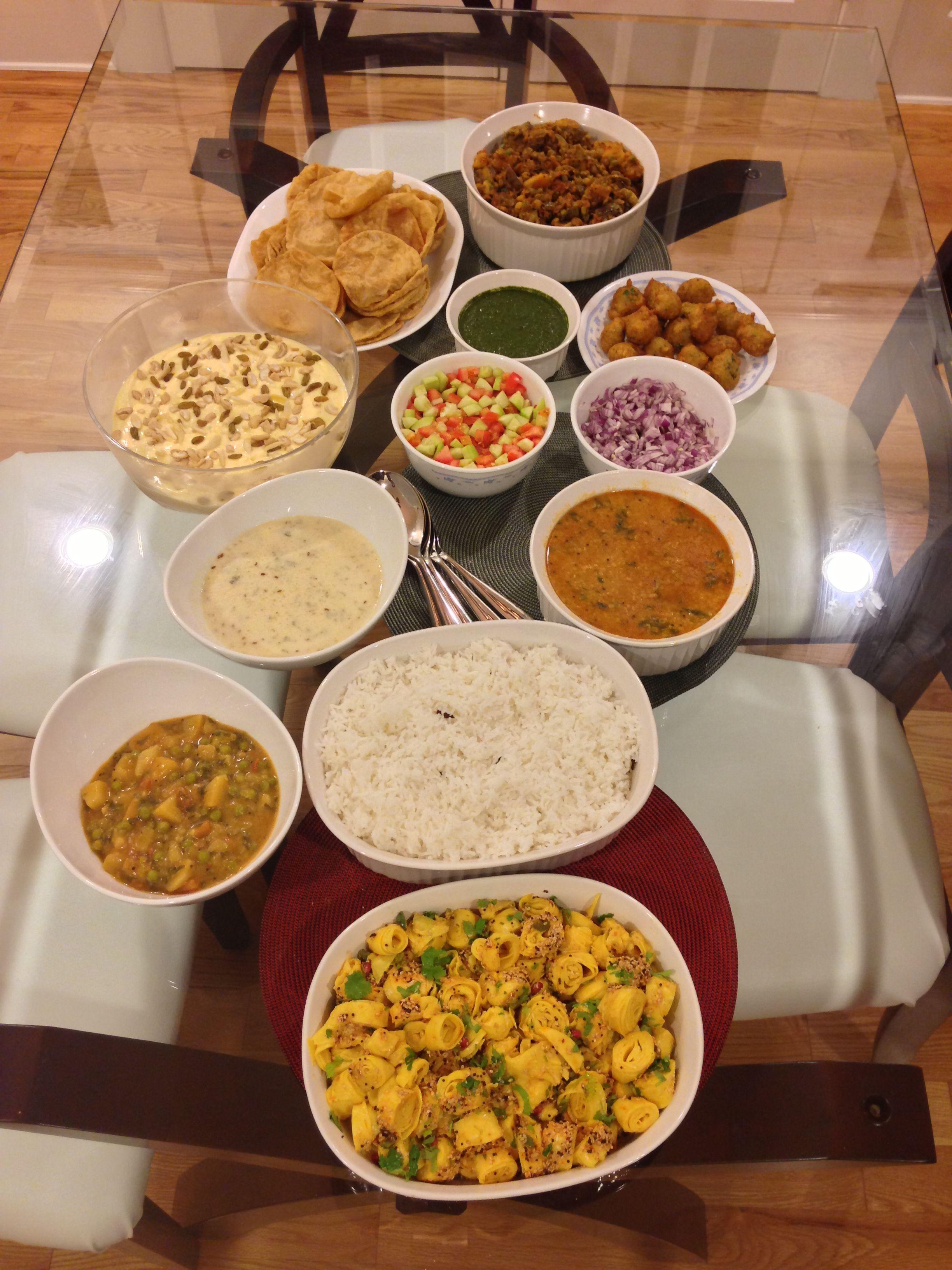 Indian Vegetarian Thanksgiving Dinner Vegetarian Thanksgiving