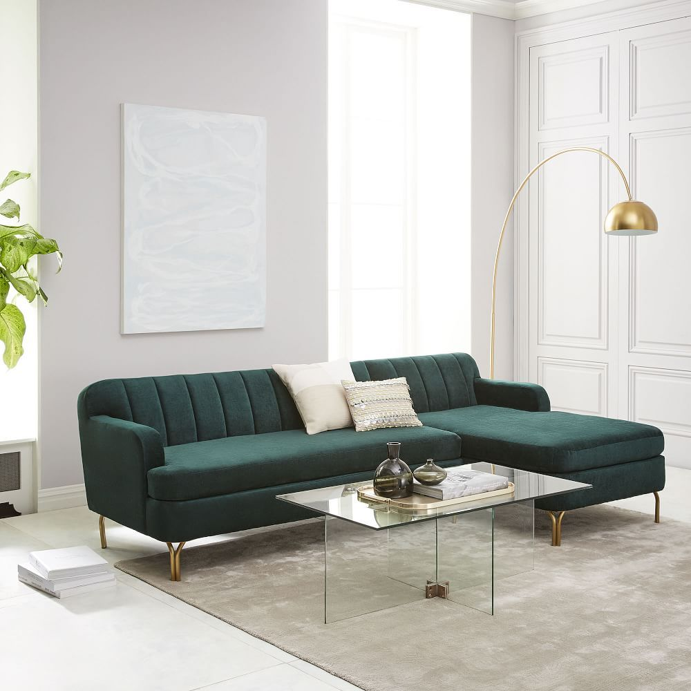 Sofas Online Valencia Valencia 2 Piece Chaise Sectional Media Room Living Room