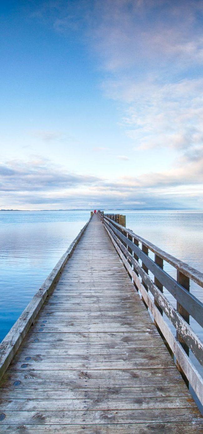 Local city guide—Auckland. Cornwallis Wharf. (What we love: jumping off wharfs).