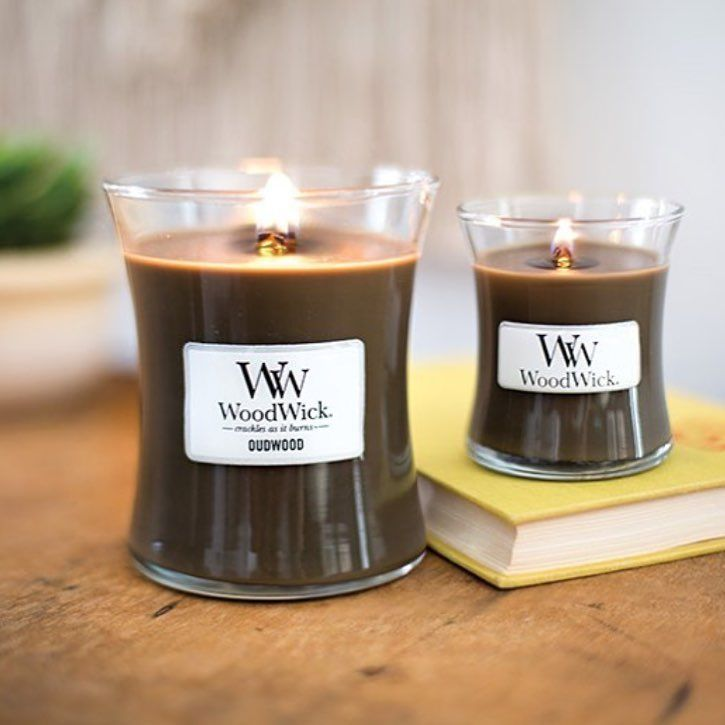 Oudwood Nouveaute Rentree 2017 Wood Wick Candles Candle Jars