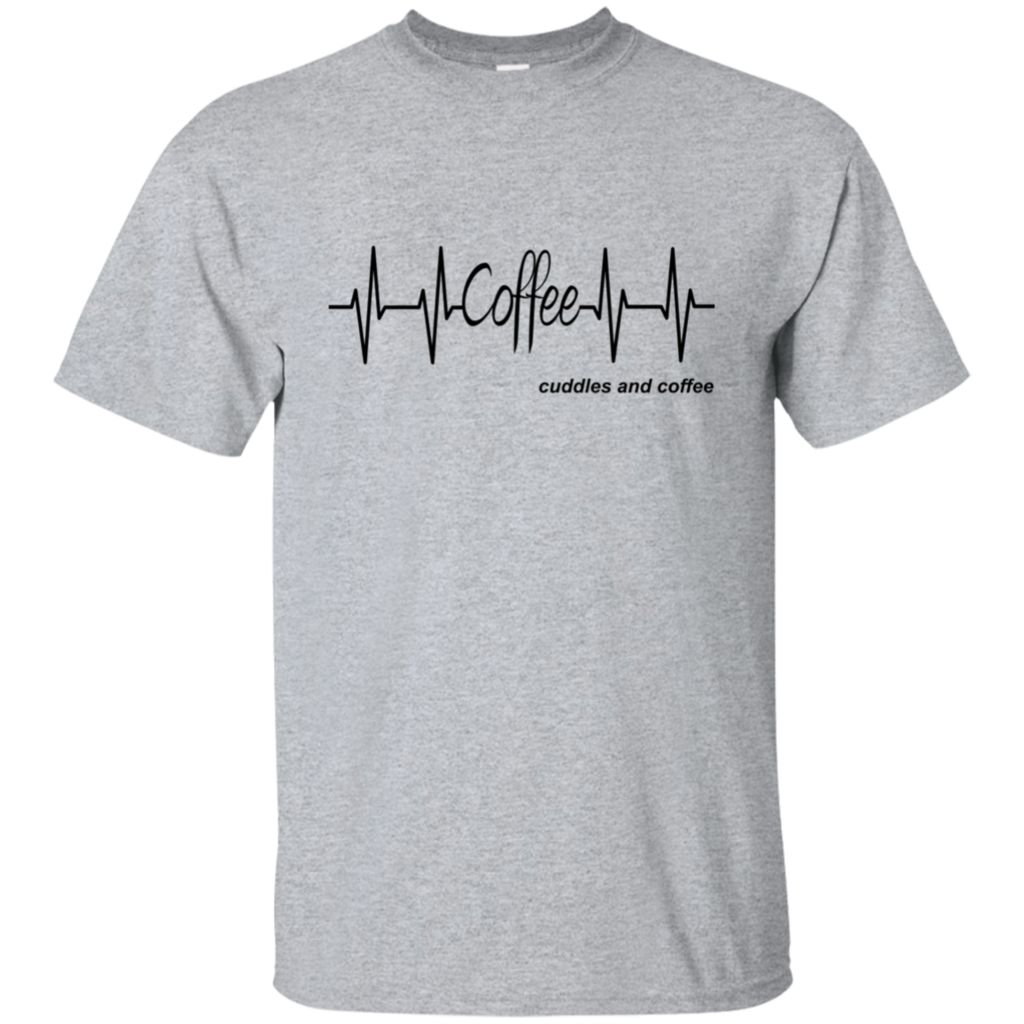 """Coffee pulse"" Cotton TShirt"