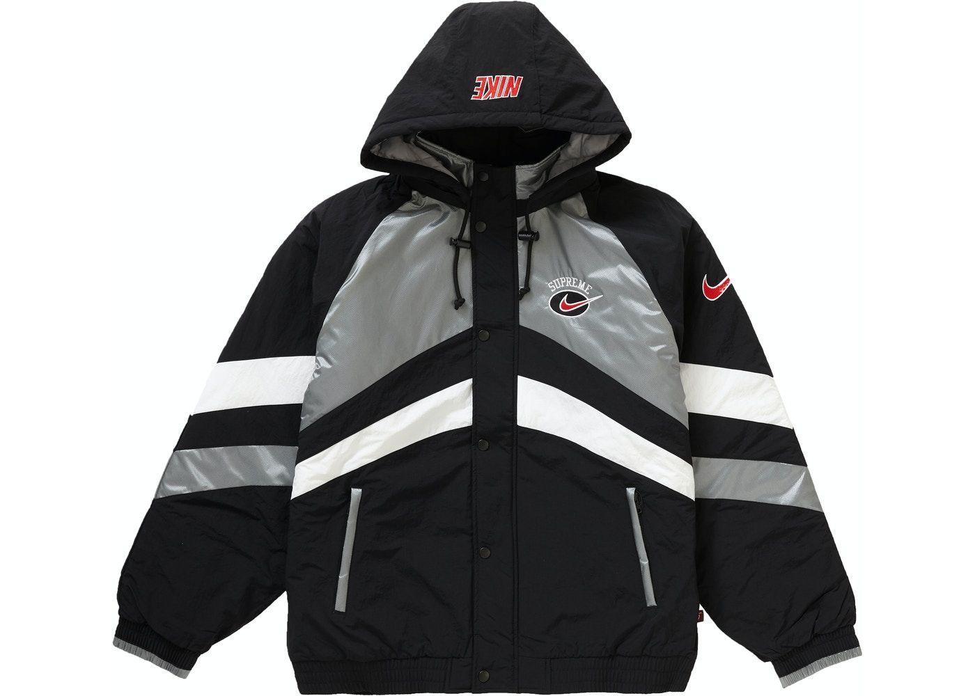 Jetez Un Coup D œil A Cet Article Sur Stockx Supreme Nike Hooded Sport Jacket Silver Sports Jacket Nike Jackets [ 1000 x 1400 Pixel ]