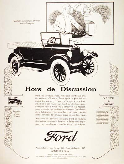 1926 Ford Model T Classic Vintage Print Ad Ford Models Ford