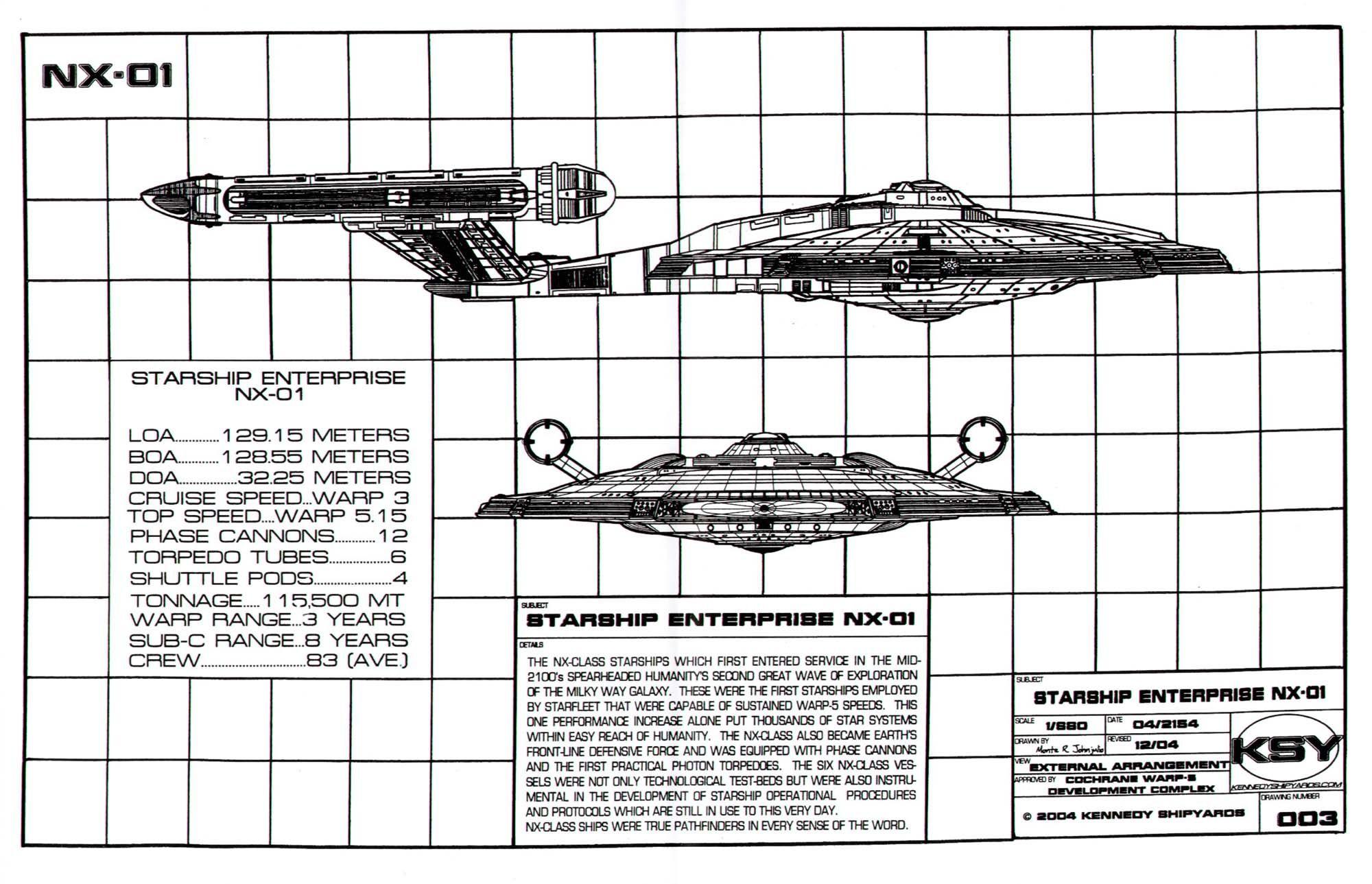 Star Trek Schematics