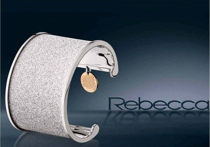 """Rebecca Bangle with """"Glam Film"""" (BHMBBB01) for $475 at DarcysFineJewelers.com.  See http://conta.cc/GDSTBK to receive 25% discount."""