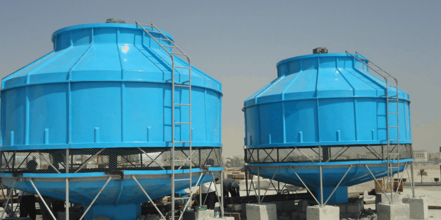 Round Cooling Tower What It Is Its Features Application And More Cooling Tower Tower Chemical Plant