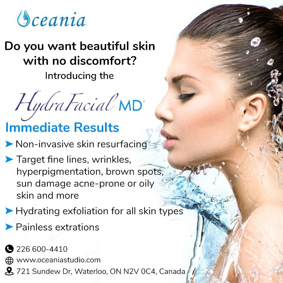 Hydrafacial In 2020 Skin Types Skin Resurfacing Hydra Facial