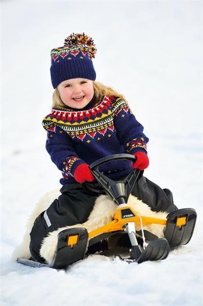 1111: Modell 13 Eskimo genser #klassiker | Strikking, Barn
