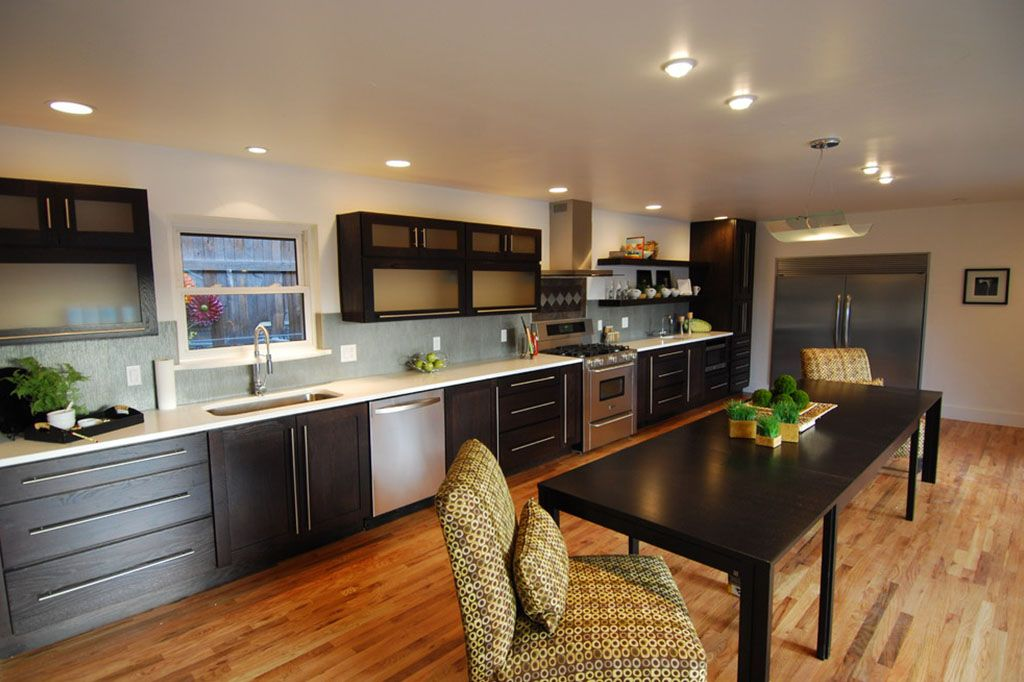 Modular Vs Carpenter Made Kitchen Let S Share You Opinion What To Select Long Narrow Kitchen Kitchen Layout Open Concept Kitchen Living Room