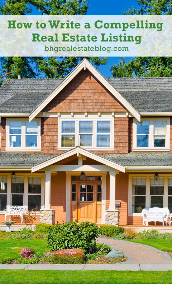 How To Write A Compelling Real Estate Listing Selling Real