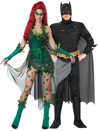 LETHAL BEAUTY POISON IVY VILLAIN BATMAN FANCY DRESS HALLOWEEN COSTUME
