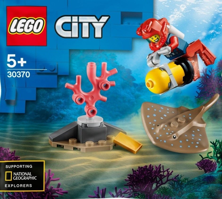 New Lego City Sets Underwater Summer 2020 In 2020 Lego City New Lego City Sets Lego City Sets