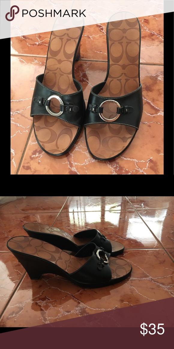 Coach slip in mules | Coach shoes