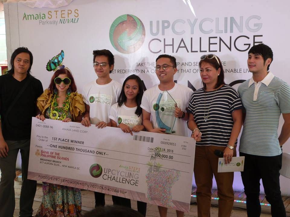 Bubble Coral Floor Lamp Wins First Amaia Steps Nuvali Upcycling Challenge