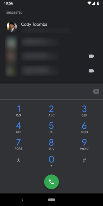 Google Phone v26 dark theme is here [APK Download]   Android