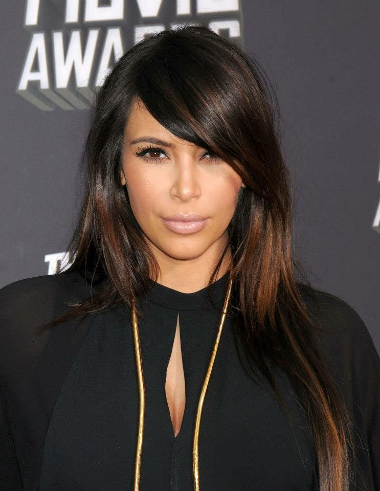 Kim Kardashian with Ombrecolor