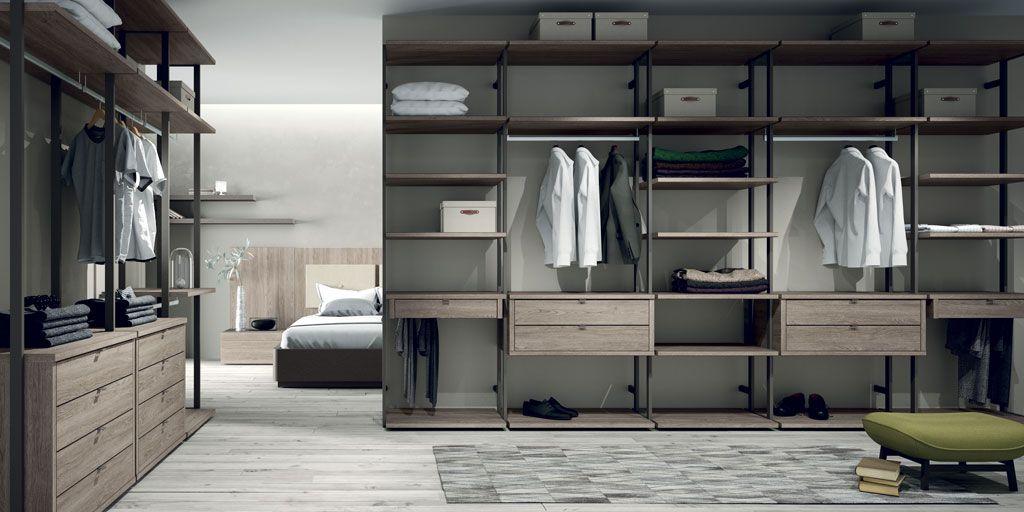 Los vestidores abiertos son la mejor opci n si tienes - Armario para habitacion ...