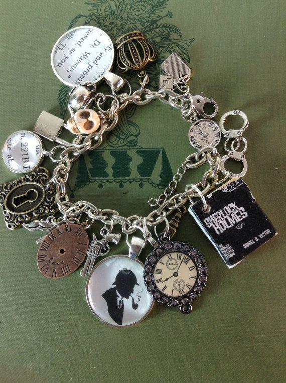 Sherlock Holmes Charm Bracelet. No. 11
