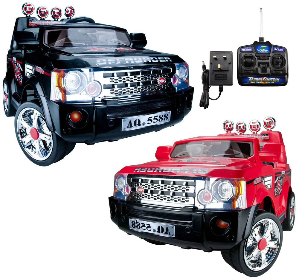 kids ride on jeep electric childrens 12v battery remote control toy car jj012