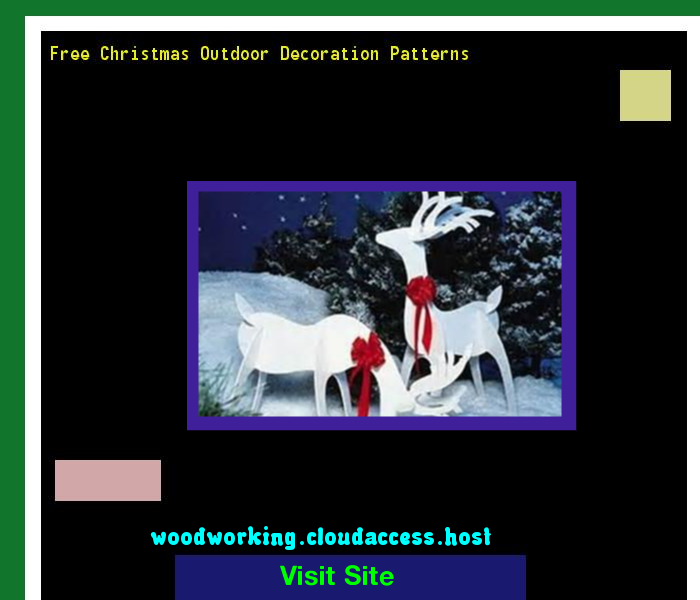 free christmas outdoor decoration patterns 215150 woodworking plans and projects - Christmas Outdoor Decoration Patterns
