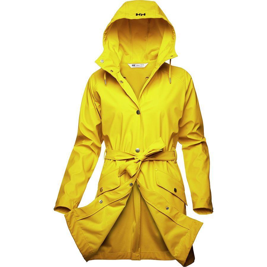 Helly Hansen Kirkwall II Rain Coat - Women's #womenvest