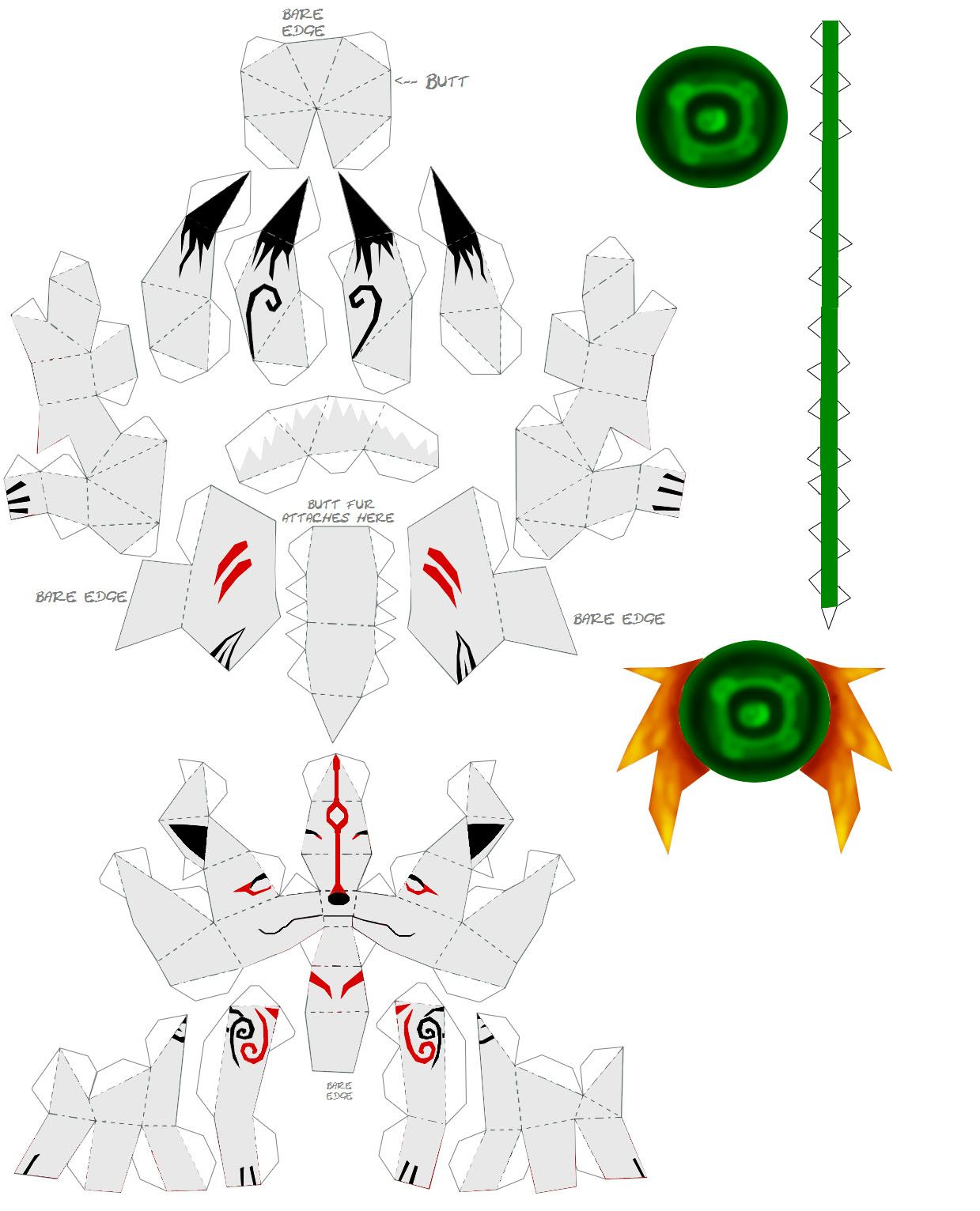 Kinsukai On Deviantart Paper Crafts Paper Art Pokemon Craft