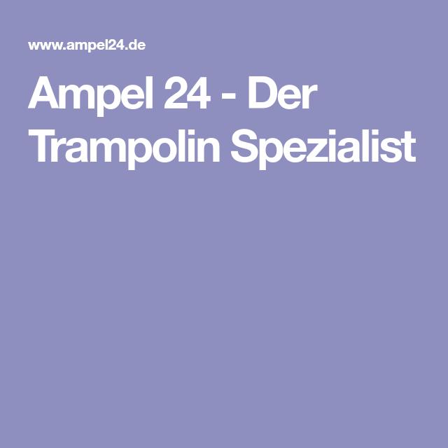 Ampel 24 Der Trampolin Spezialist Trampolin Fitness Workouts Ampel