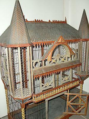 Ritterburg Vogelkäfig Deko Burg Voliere in in Neufahrn | eBay ...