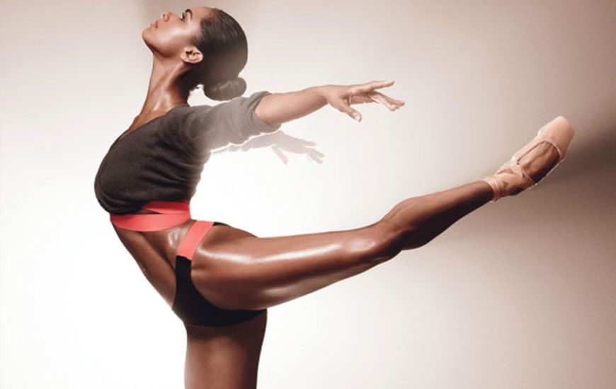 how the amazing ballerina Misty Copeland stays in dancing shape - hint get your zzz