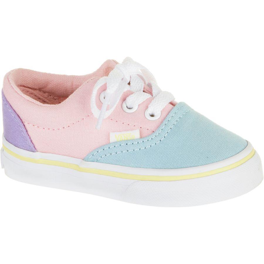 74c5cdf733 Vans - Era Skate Shoe - Infant   Toddler Girls  - (pastel Tones) Multi True  White
