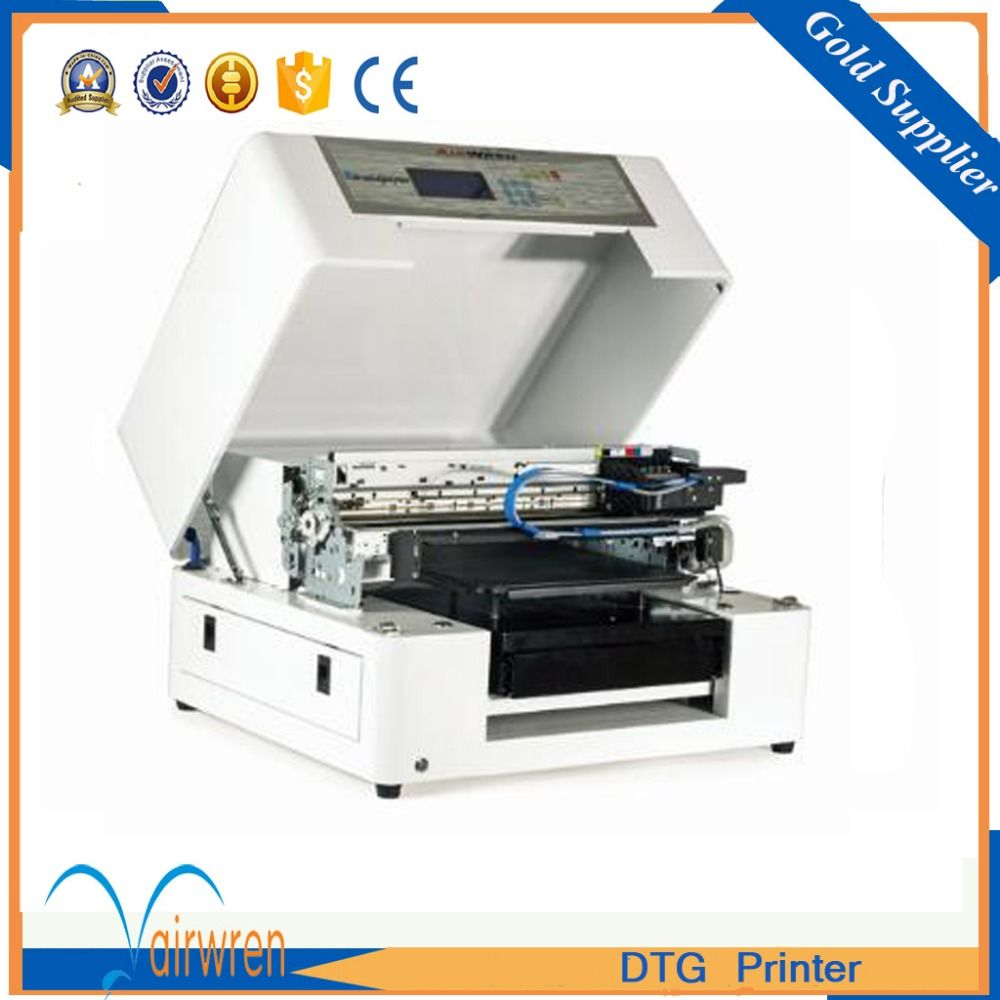 supper newing a3 dtg printer T shirt printing machine with