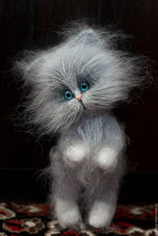 бывает коты из мохера спицами с описанием бог яхве