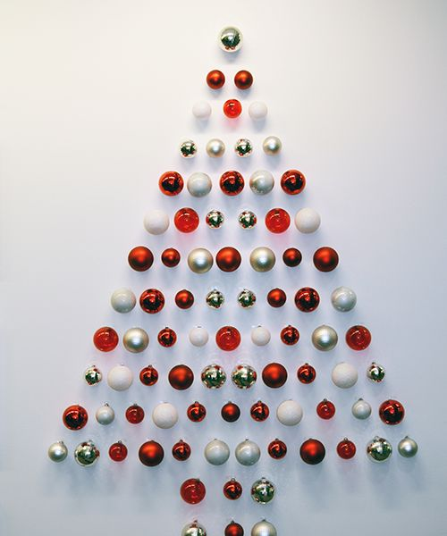 Holiday Ornmanet Christmas Tree Wall Christmas Tree Origami Christmas Tree Diy Christmas Wall