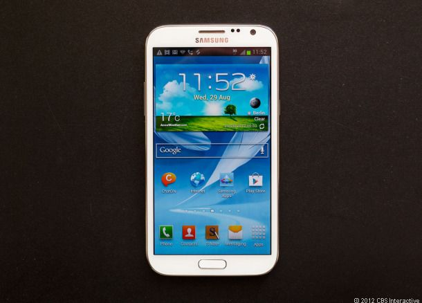 Samsung Galaxy Note 2 review The ultimate antiiPhone