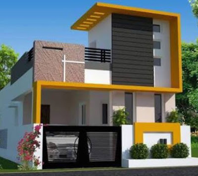 Pin By Richard On Ultra Modern Homes In 2020 Small House Elevation Design Small House Elevation Single Floor House Design