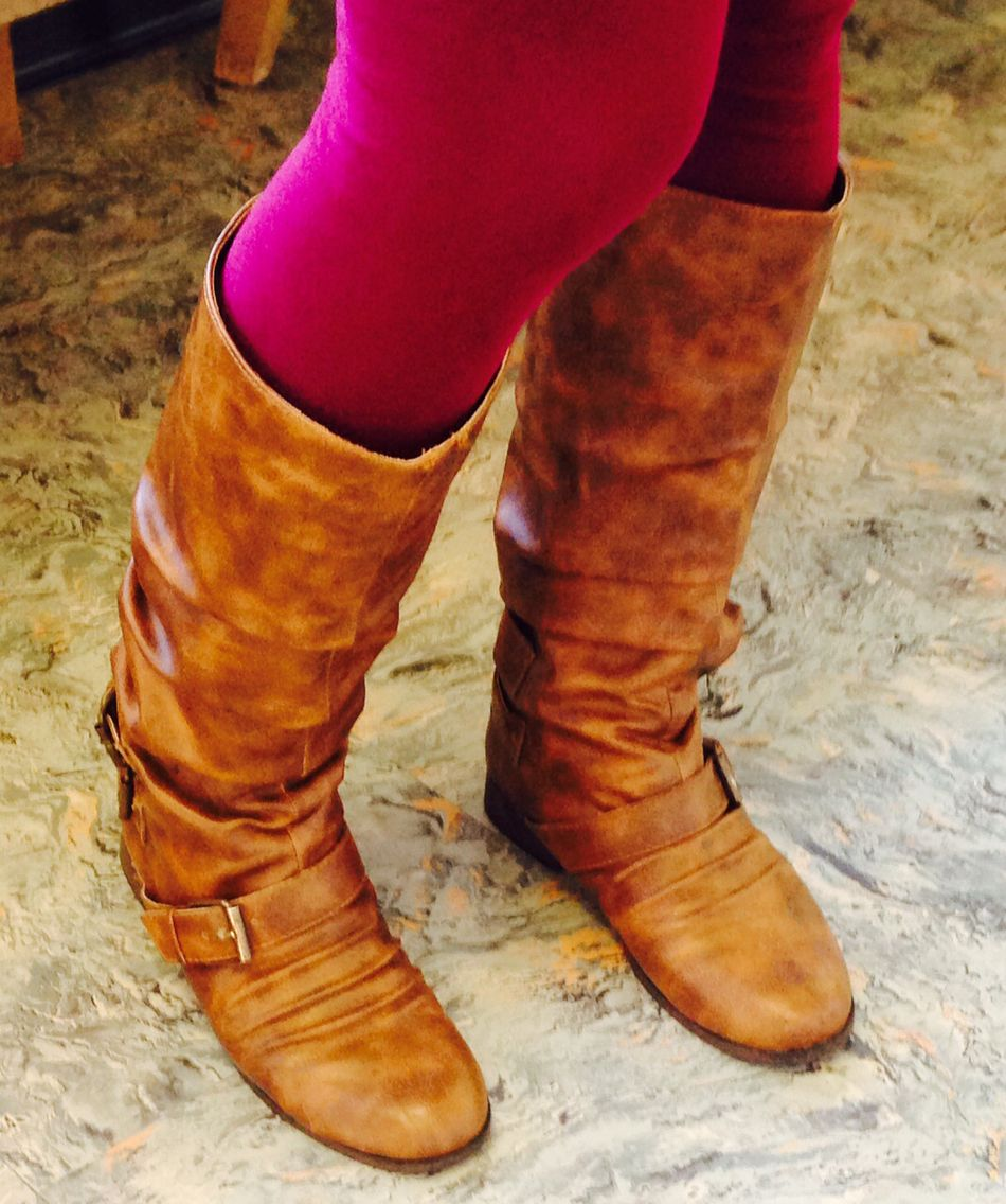While on jury duty, I spied these boots on a fellow juror.