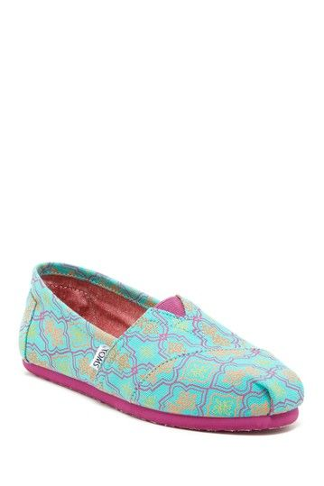 33dbd638097 Moroccan Print Classic Slip-On Shoe by TOMS on @HauteLook   My Style ...