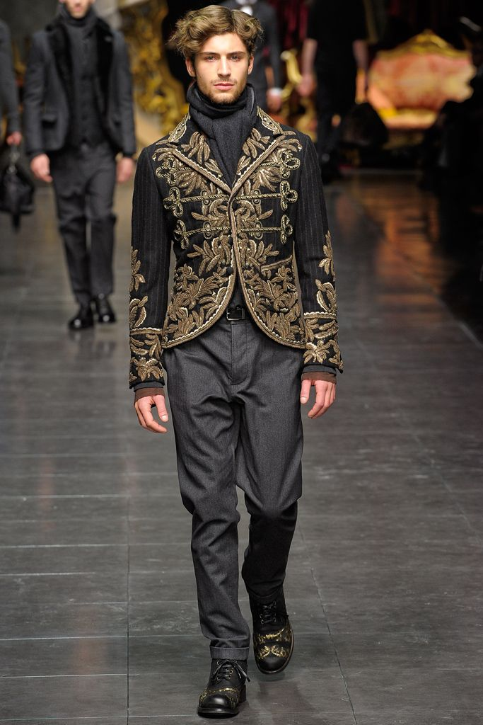 dolce amp gabbana fall 2012 menswear collection gallery