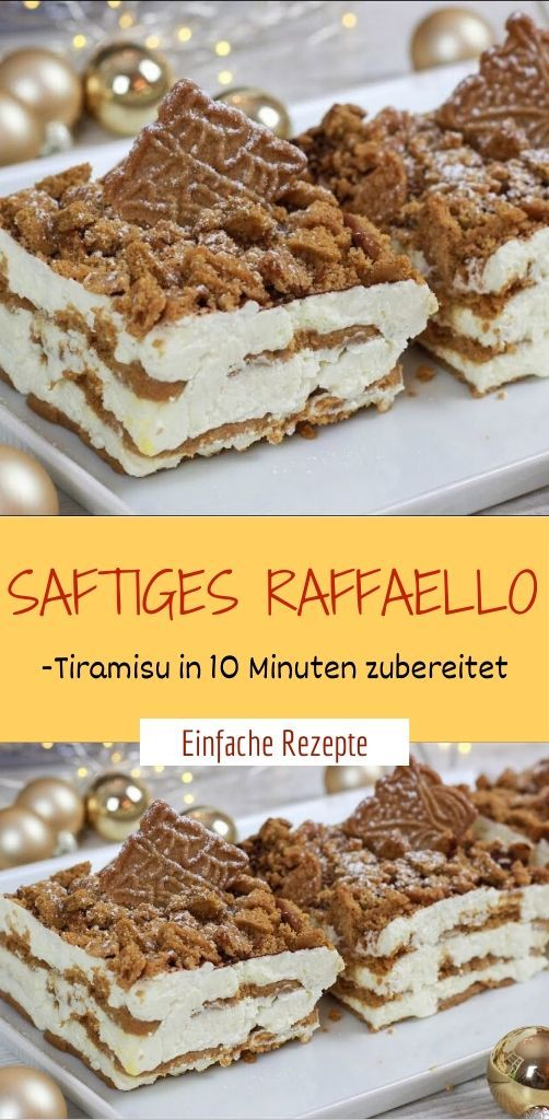 Photo of Juicy RAFFAELLO tiramisu prepared in 10 minutes