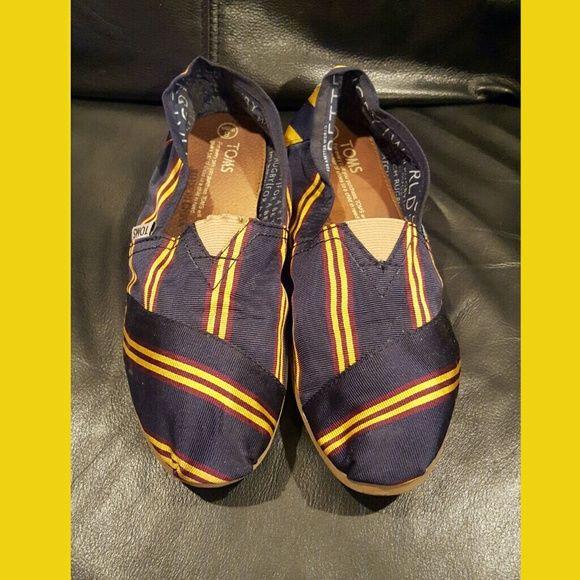 Toms Rugby Ralph Lauren Flats Bag Vintage Size 8 Toms Flats Ralph Lauren Flats