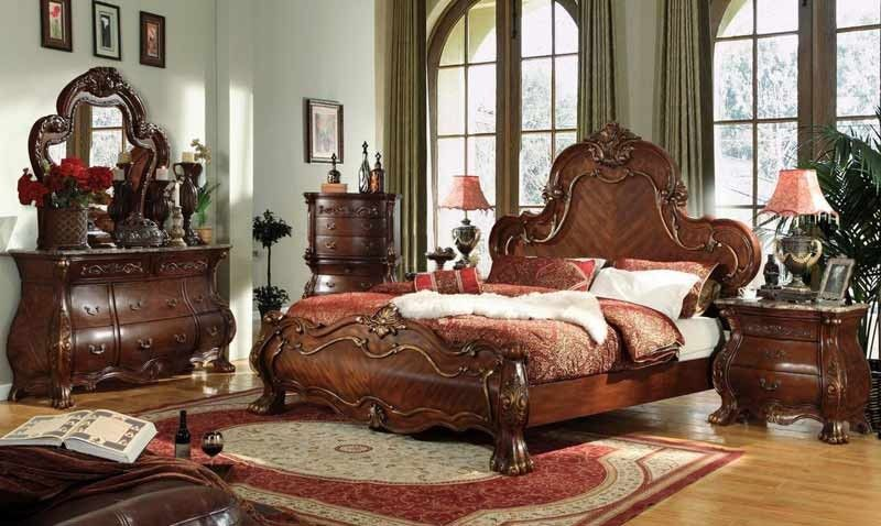 Mcferran Home Furnishings  B1602 4 Piece California King Bedroom Beauteous Cal King Bedroom Sets Design Ideas