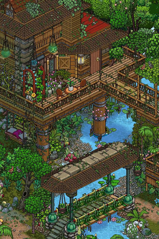 Project 2- 16 bit video game background design inspiration