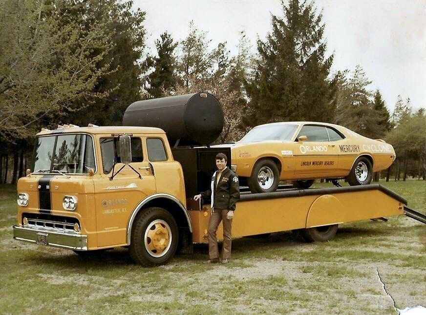 Jim & Chester's Garage — Cyclone transporter… in 2020