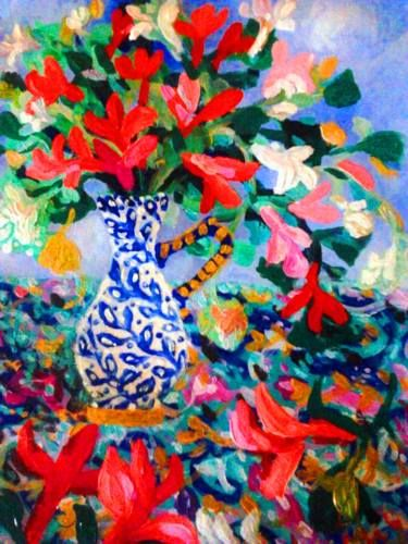 "Saatchi Art Artist Nada  Sucur Jovanovic; Painting, ""Just love it"" #art"