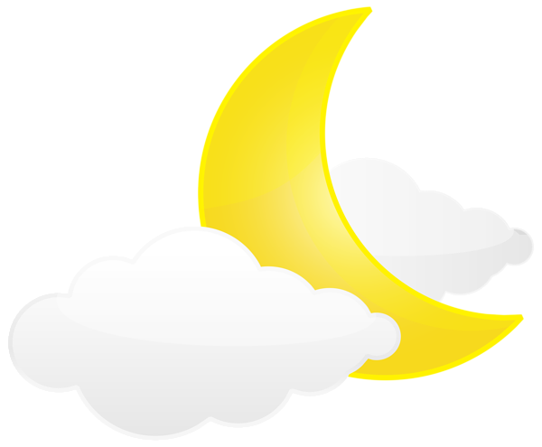 Moon With Clouds Png Transparent Clip Art Image Clip Art Art Images Free Clip Art